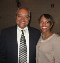 James Young, Treasurer and Keely Colburn, Chairperson -   2010 Family Reunion Banquet in St. Augustine, Florida